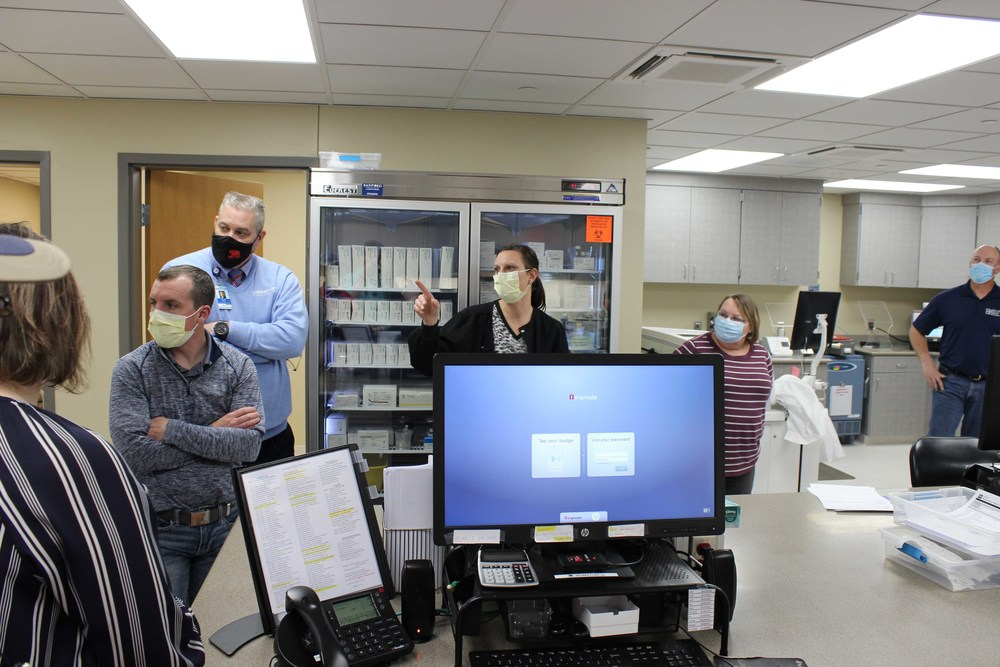 New lab opens at Medical Services