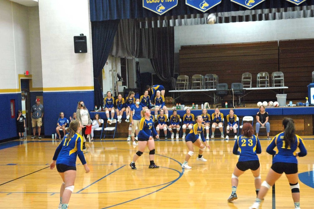 West Holt hosts Niobrara-Verdigre in volleyball action