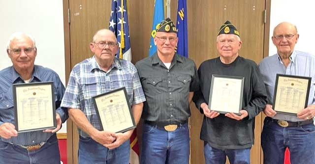Members of the Atkinson American Legion