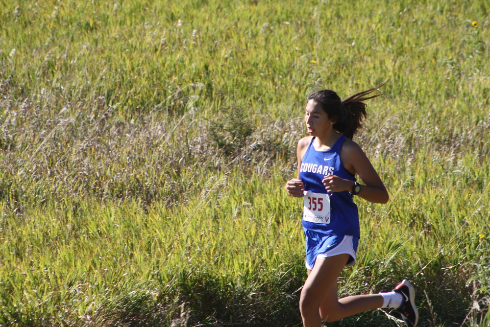 Lady Cougars finish fifth in Cross Country Meet