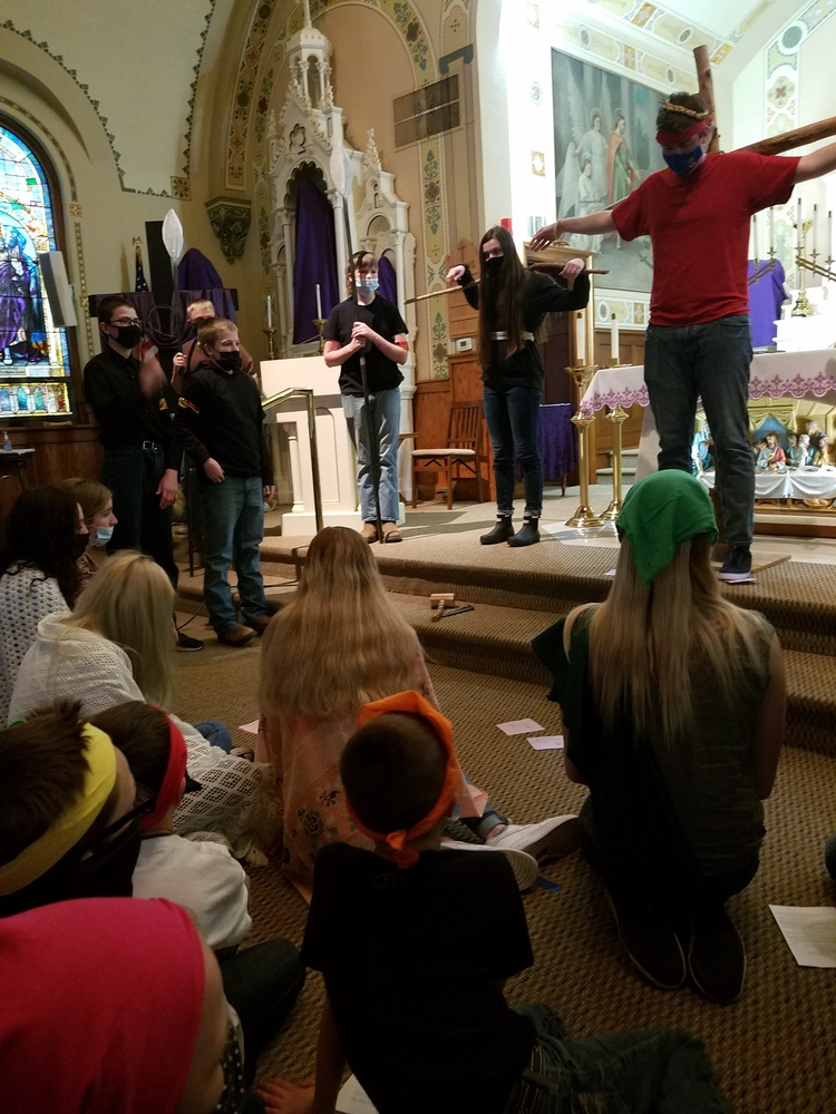 Living Stations of the Cross event held