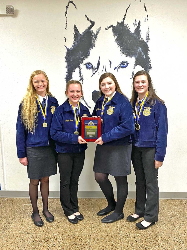 West Holt FFA has convention success