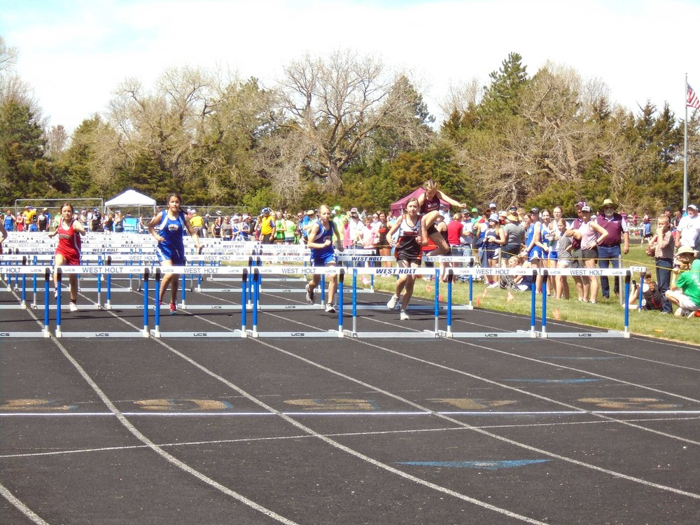 Track results from both West Holt and Stuart