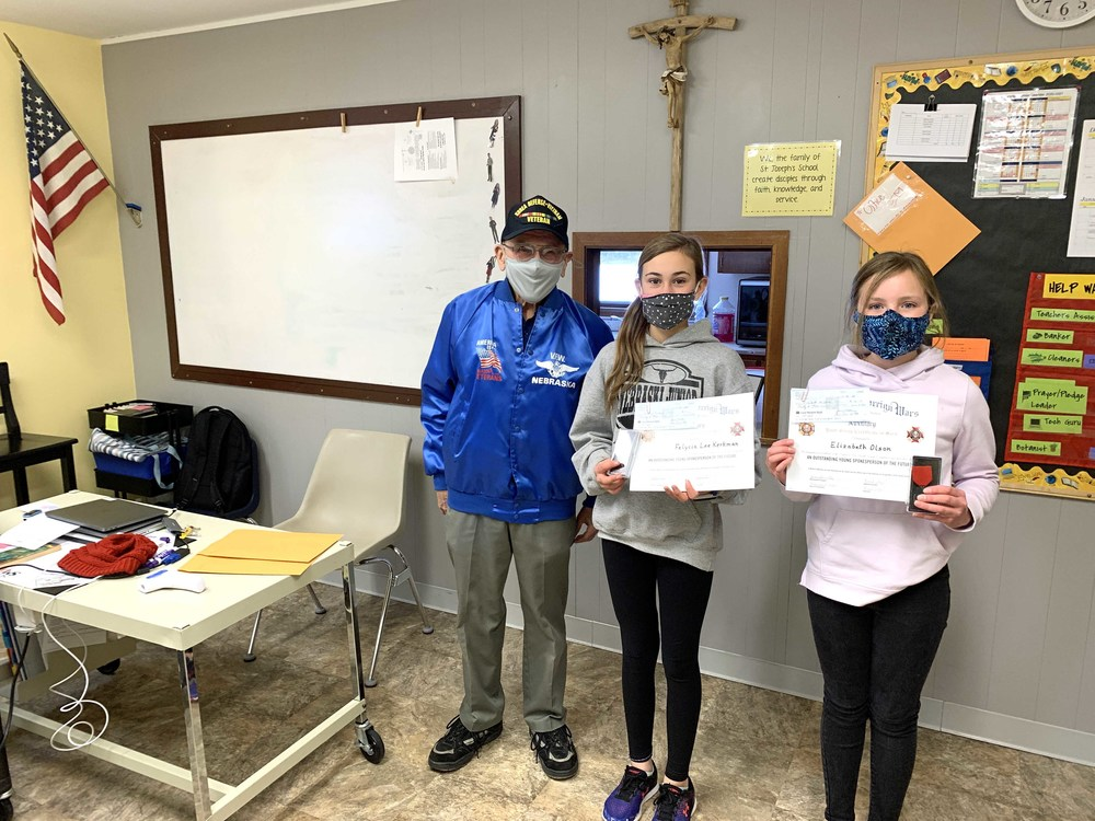 VFW gives out awards