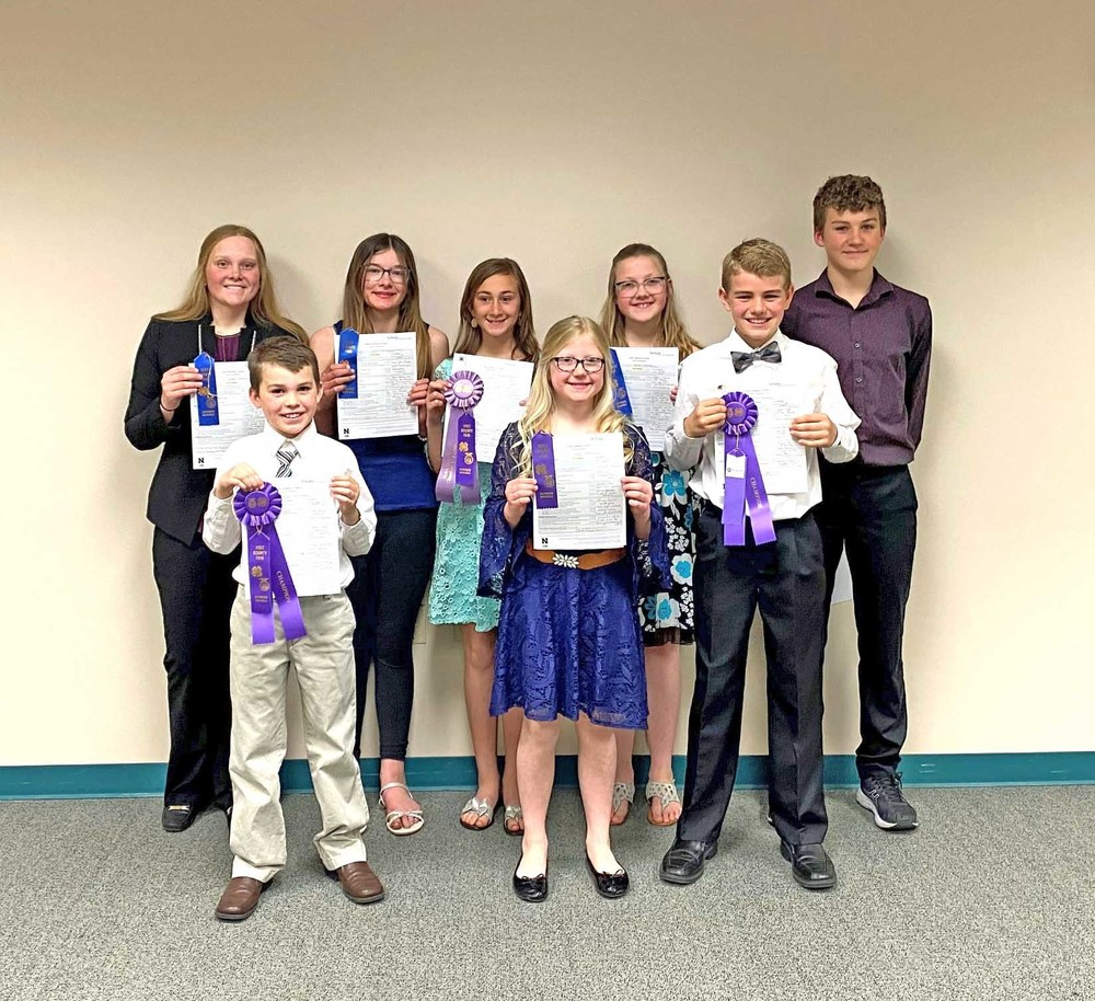 Holt County holds 4-H Speech Contest