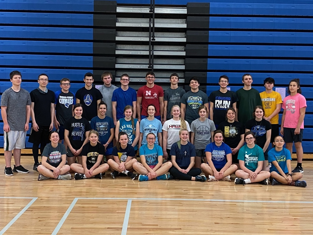 N/V Cougars begin 2021 Track Season