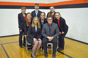 Stuart Speech Team qualifies for State
