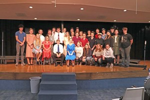 Huskies place third at NVC West Play Production