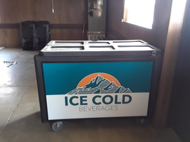 New beverage cooler arrives for the town