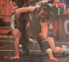 Petersen takes sixth place at Girls State Wrestling