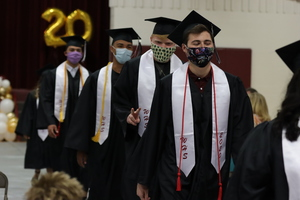 WHS Class of 2020 receives diplomas