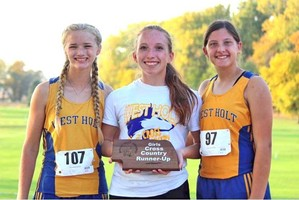West Holt Cross Country brings home awards from NVC