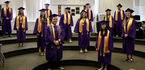 Emerson-Hubbard holds commencement ceremony