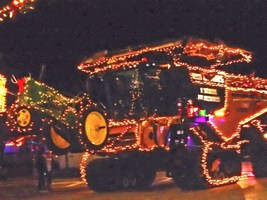 Parade of Lights held Sunday night