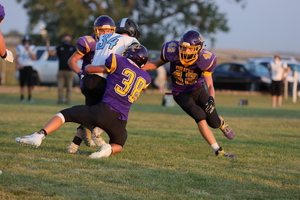 Pirates sink Cedar Bluffs