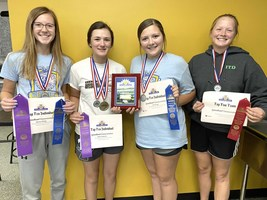 West Holt FFA members earned State Awards
