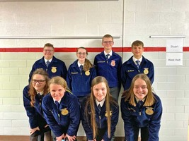 West Holt FFA competes in District Leadership Events