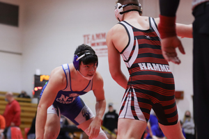 Cougar wrestlers have busy week
