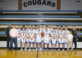 N/V Cougars Boys' Basketball Team