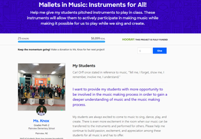 "Donors fund ""Mallets"" Project in single effort"