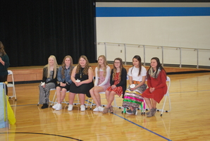 New members of Niobrara Honor Society