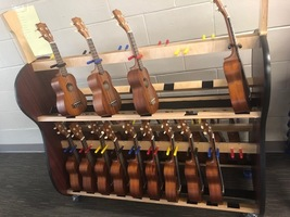 New ukuleles for elementary music program
