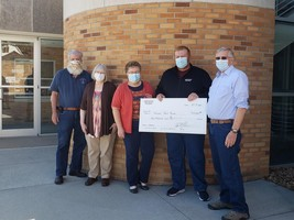 MFI makes donation to Wayne Food Truck