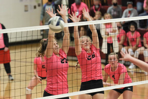 ​Lady Trojans win two
