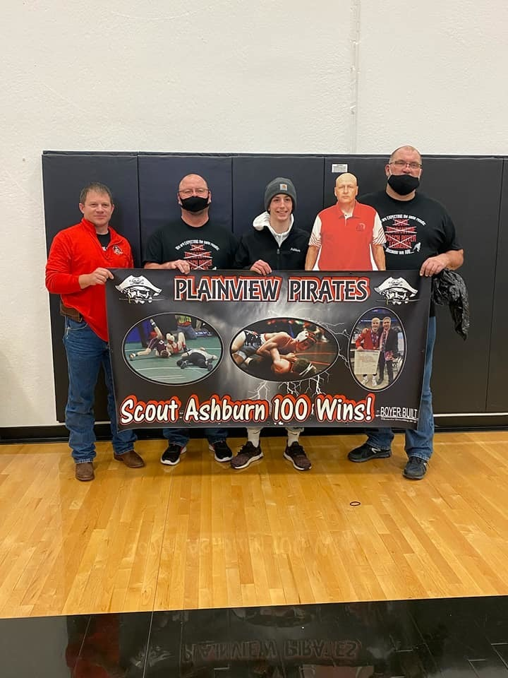 Ashburn 100th win