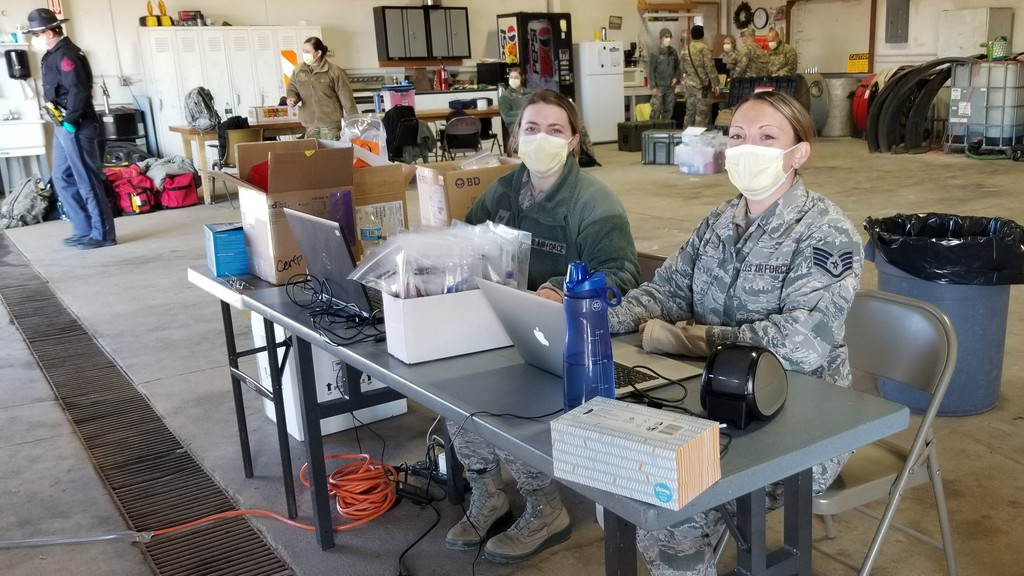 National Guard holds testing in area