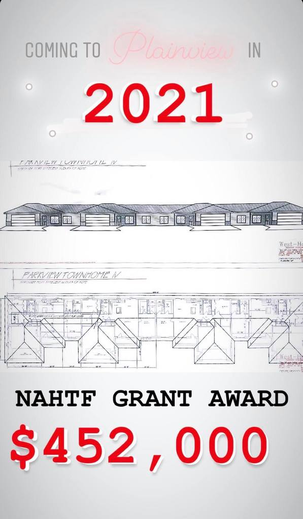 Plainview project funded by grant